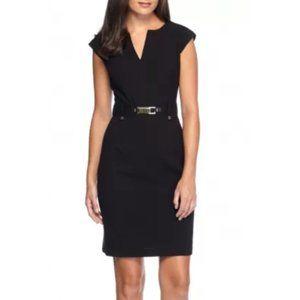 NWT Calvin Klein Buckled Sheath Dress M5RB7962